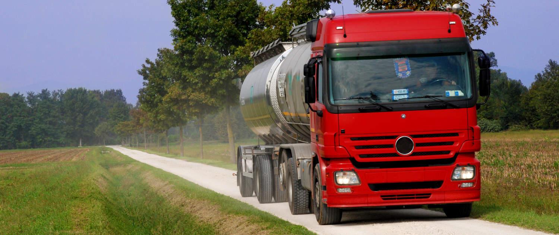 Heavy-duty shock absorbers from Marquart for milk trucks