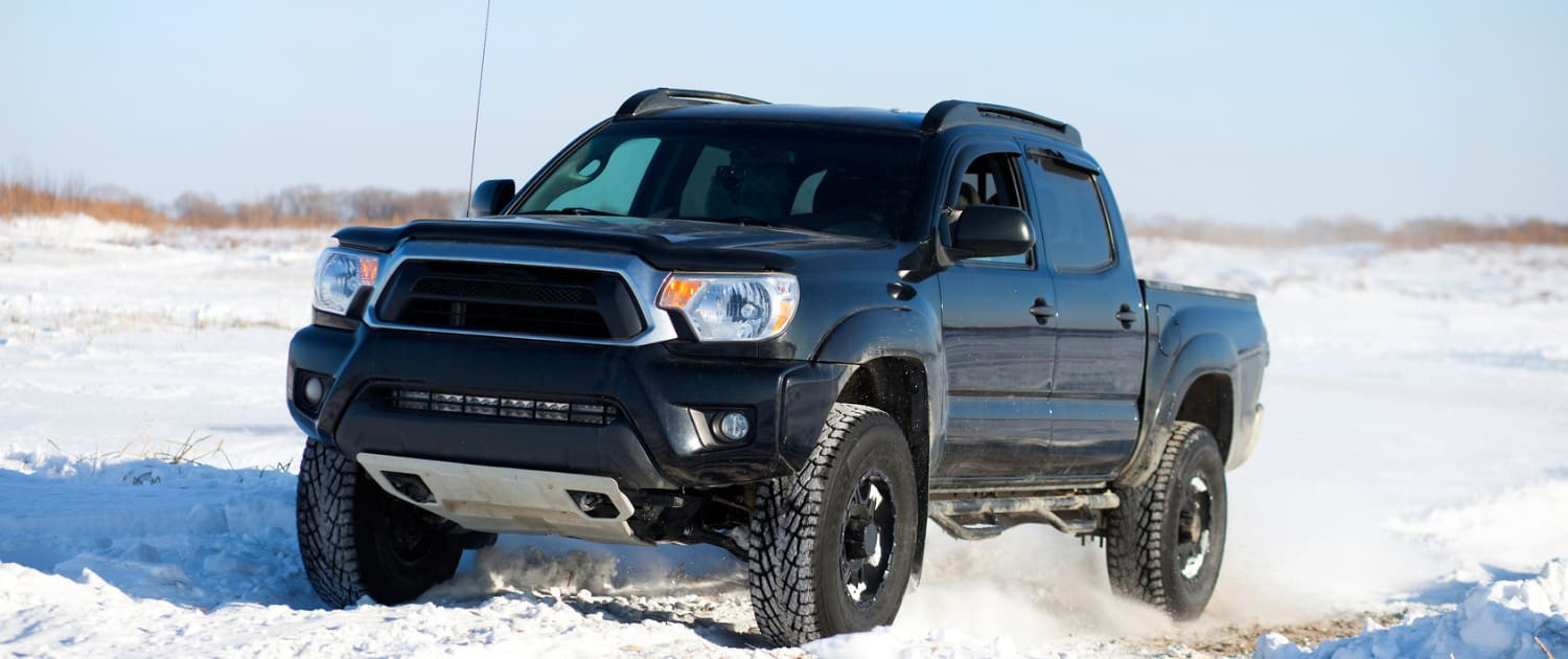 Heavy-duty shock absorbers for off-road pickups