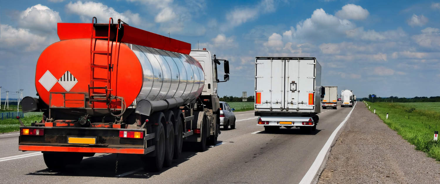 Heavy-duty shock absorbers from Marquart for tankers