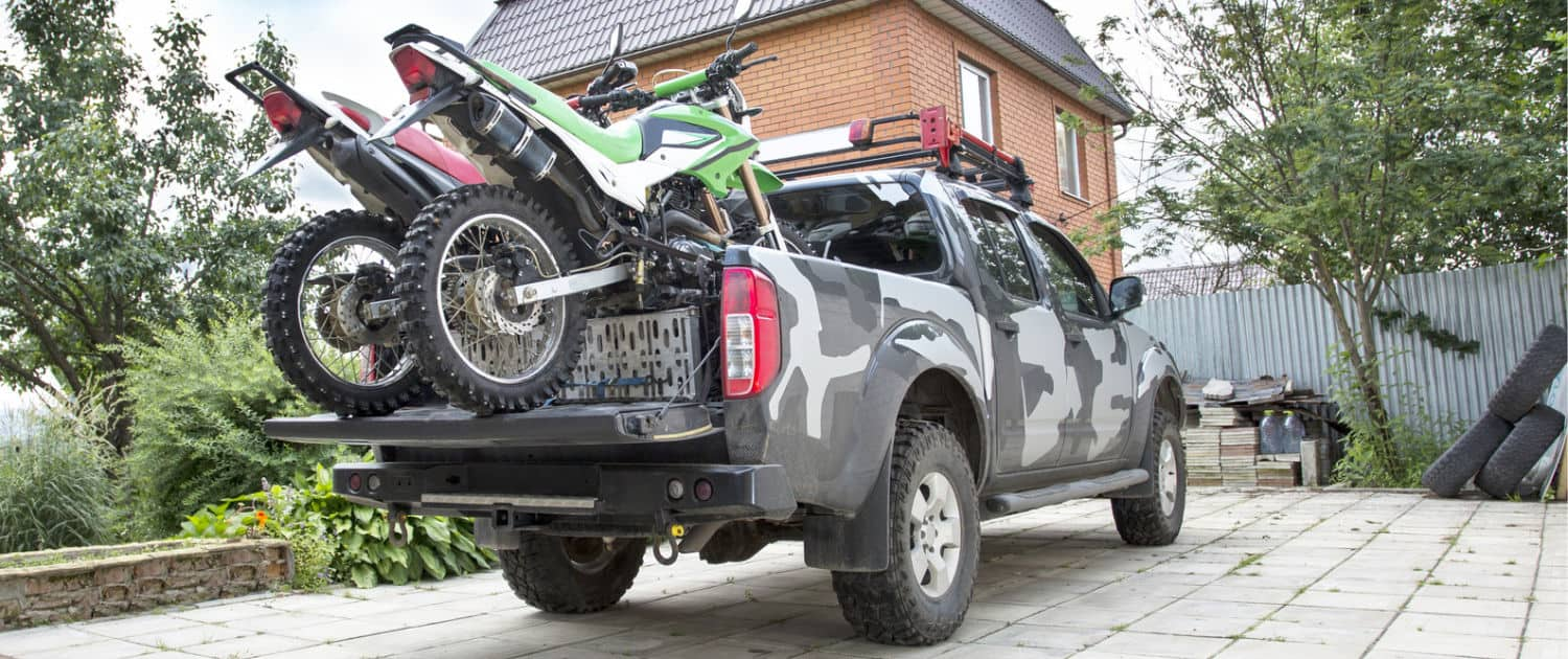 Heavy-duty shock absorbers for pick-ups even with load