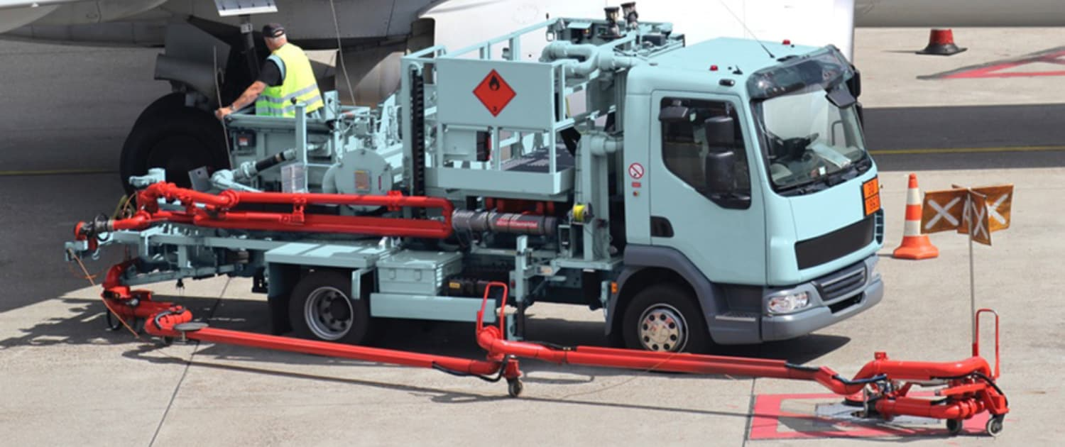 Heavy-duty shock absorbers from Marquart for airport service vehicles