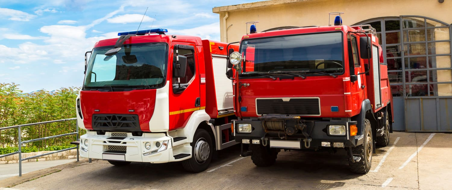 Heavy-duty shock absorbers from Marquart for fire engines