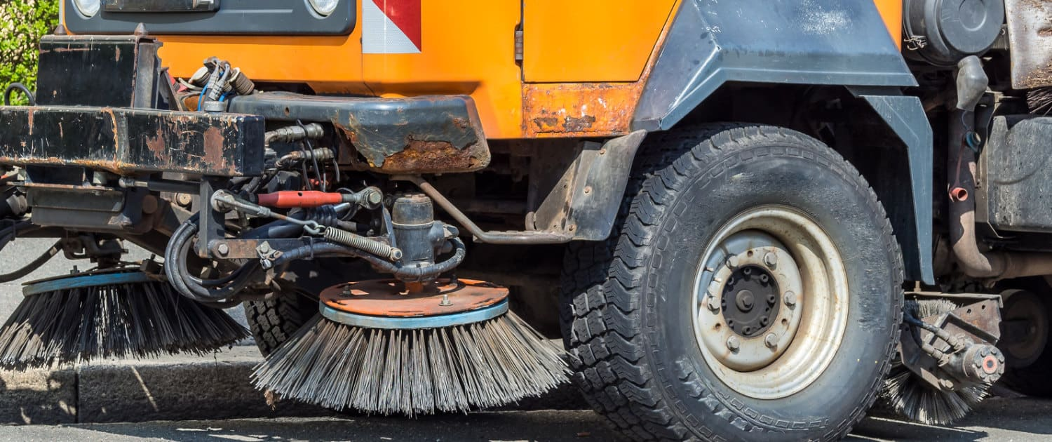 Heavy-duty shock absorbers from Marquart for sweepers