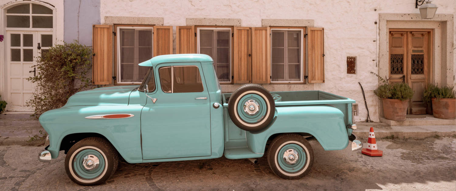 Reinforced shock absorbers for historic pickups