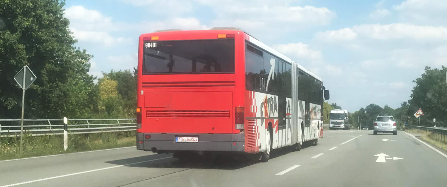 Heavy-duty shock absorbers from Marquart for articulated buses