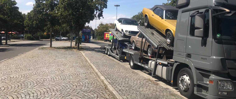 Heavy duty shock absorbers for car transporters